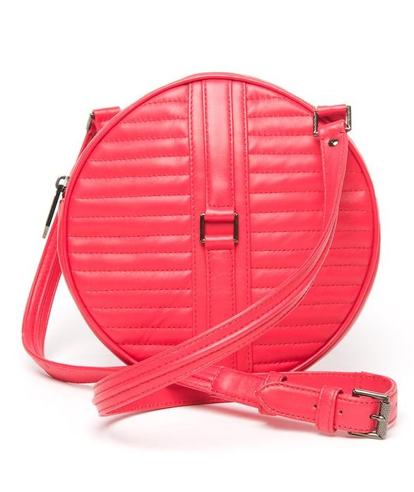 Soup up the brightness factor on your circle bag by way of this bold coral pink color. Reece Hudson No. 3 Circle Bag ($695)