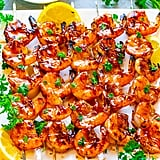 Honey Barbecue Grilled Shrimp