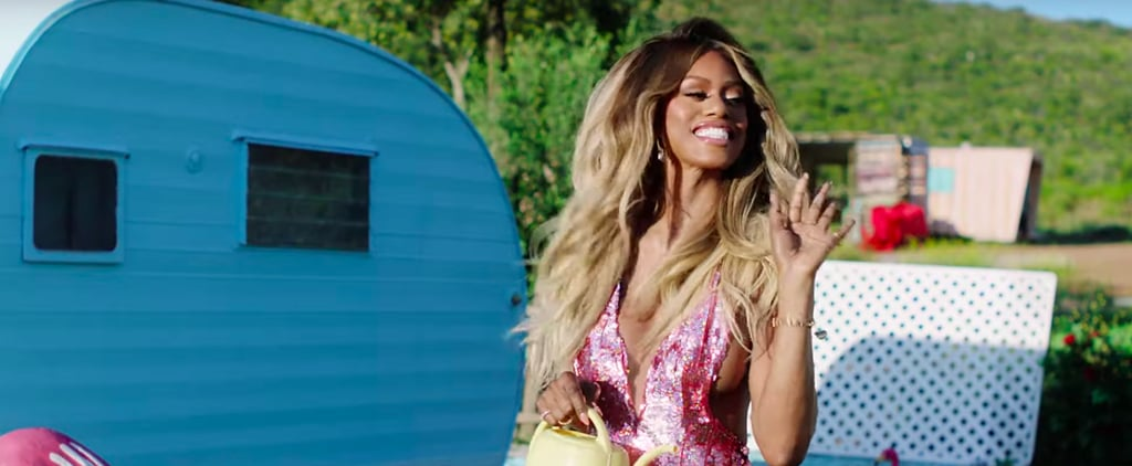 Laverne Cox Hair in You Need to Calm Down Video