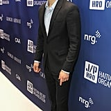 Paul Wesley suited up for the party.