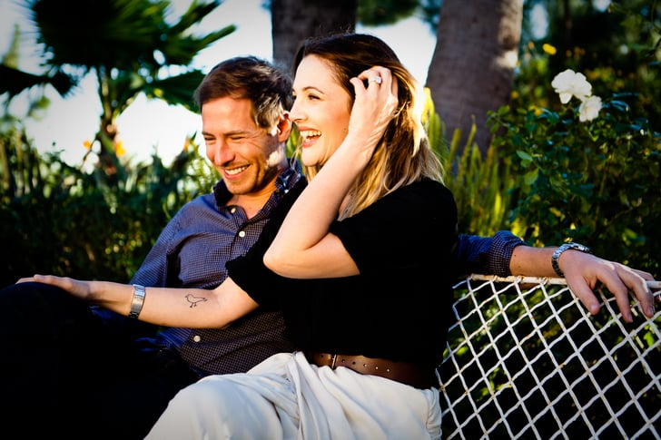 Drew Barrymore and Will Kopelman smiled big in their official engagement picture.