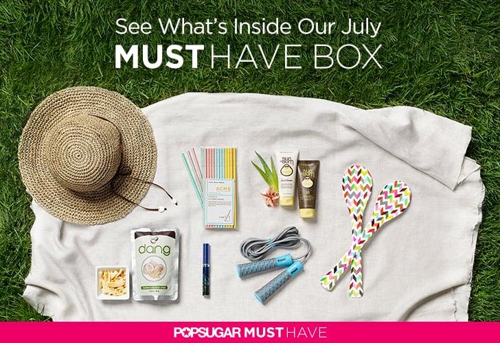 POPSUGAR Must Have Box Reveal July 2014