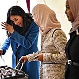 Meghan Markle's Cookbook Launch at Kensington Palace 2018