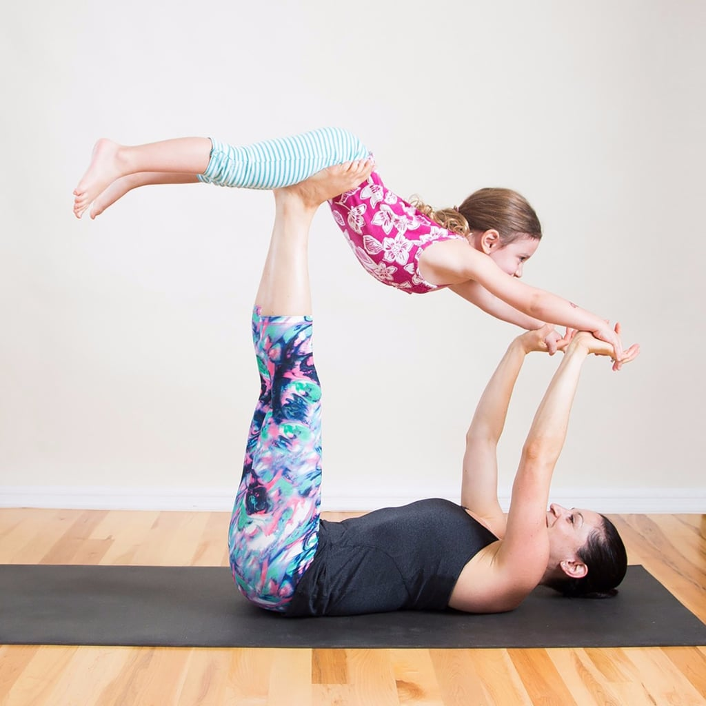 Mommy and Me Yoga = 1% Yoga + 99% Giggling