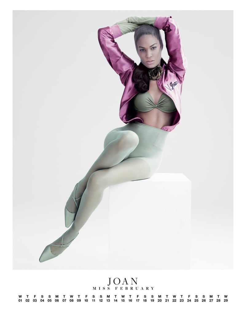 Joan Smalls posed for a Carine Roitfeld-edited spread in VMAN.