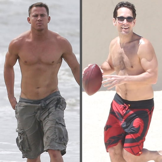 Shirtless Celebrities Men | 2014