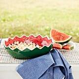 Watermelon Melamine Serving Bowl