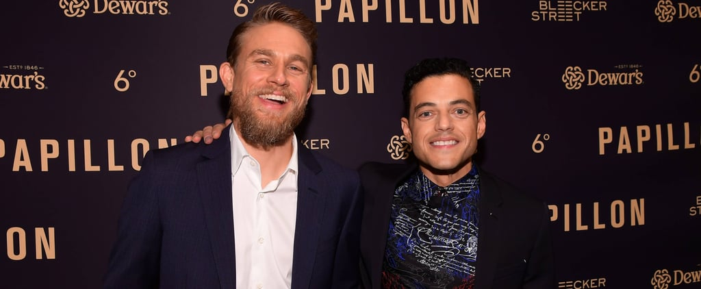 Charlie Hunnam and Rami Malek on Last Call With Carson Daly