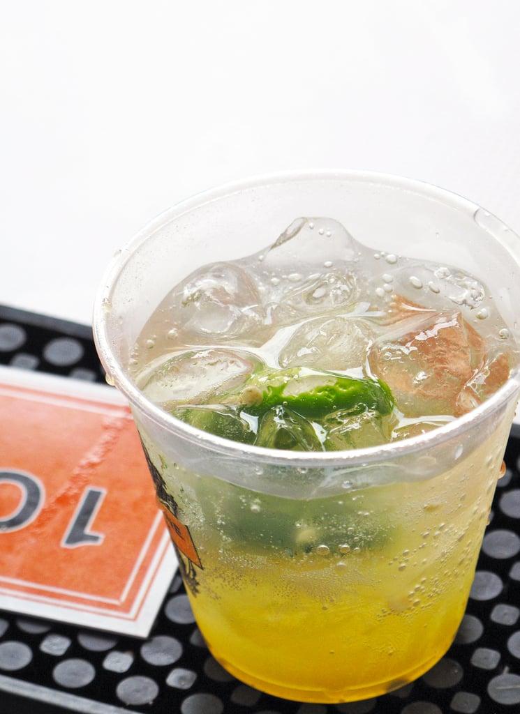 Passion Fruit-Jalapeño Rum Cocktail