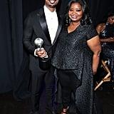 Michael B. Jordan and Octavia Spencer at the 2020 NAACP Image Awards