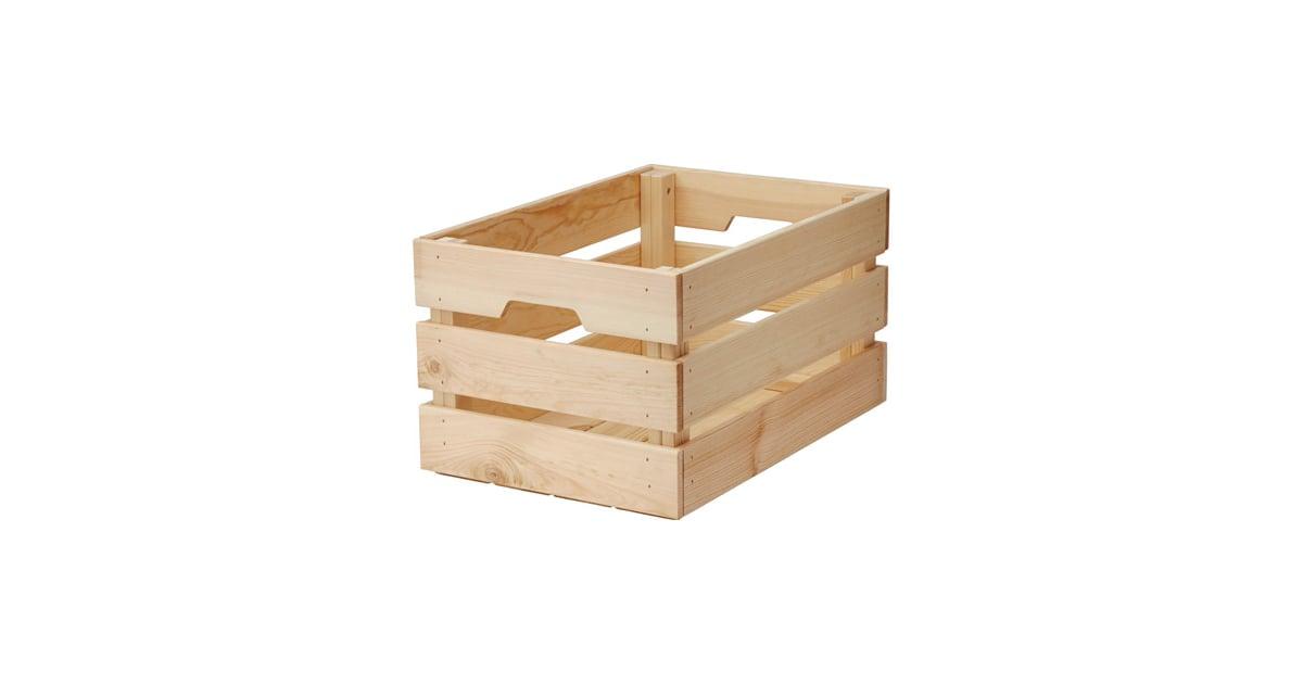 wooden boxes ikea kitchen organisation popsugar home. Black Bedroom Furniture Sets. Home Design Ideas