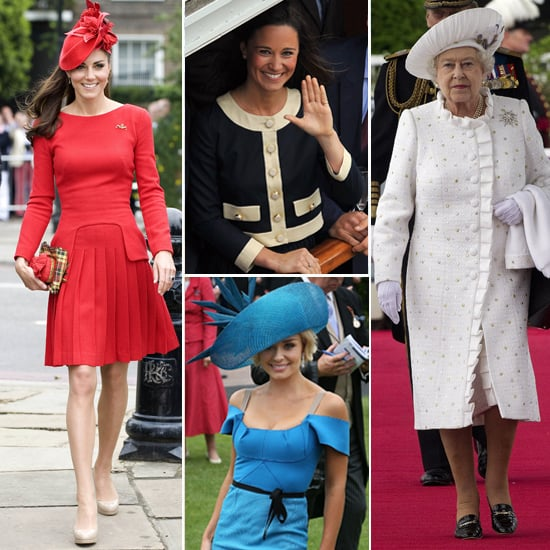 Kate Middleton and Royals Fashion During Jubilee Weekend