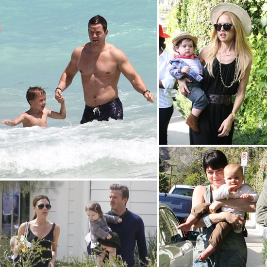 Best Celebrity Family Pictures April 9, 2012