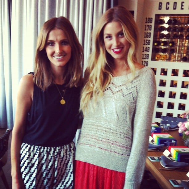 Kate Waterhouse caught up with Whitney Port at a Sportsgirl lunch. Source: Instagram user katewaterhouse7