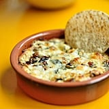 Vegetarian Appetizers: Mushroom and Goat Cheese Queso