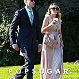Lauren Conrad Arrived to Her Friend's Wedding