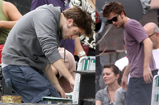Robert Pattinson On Set In New York City