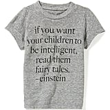 Kids' Einstein Quote Tee