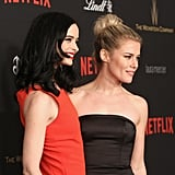 Pictured: Krysten Ritter and Rachael Taylor