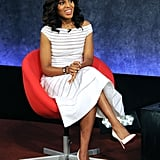 Kerry Washington spoke on stage at the Paley Center panel in NYC.