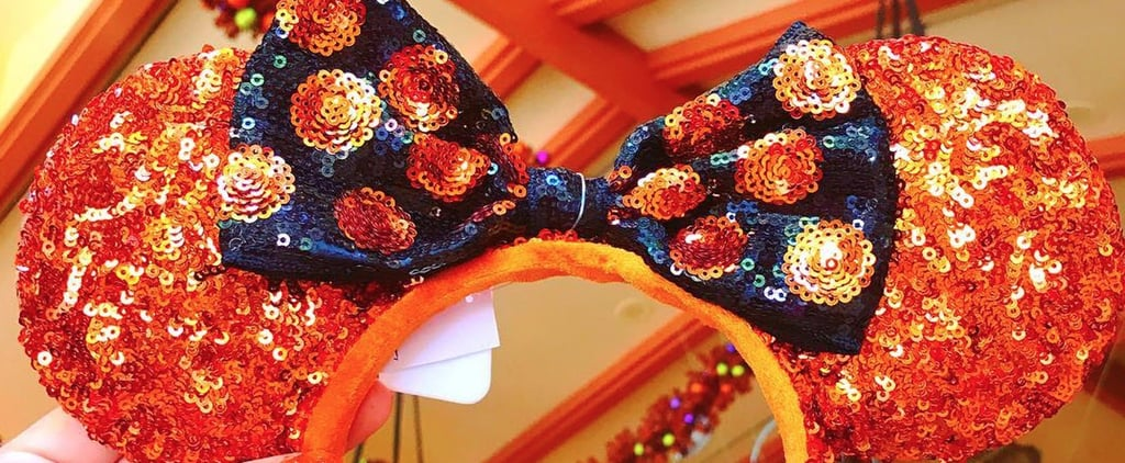 Halloween Glitter Minnie Mouse Ears at Disney