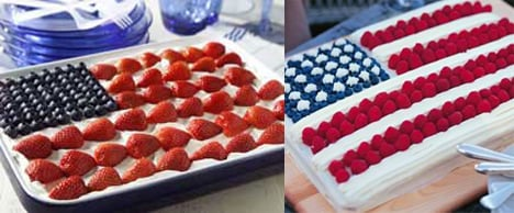 Flag Cake Two Ways -  Beginner & Expert