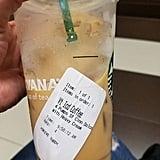 An Iced Coffee