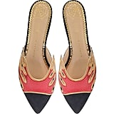 Charlotte Olympia Flaming Slide Mules