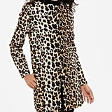 The Limited Printed Snap Front Coat ($170)