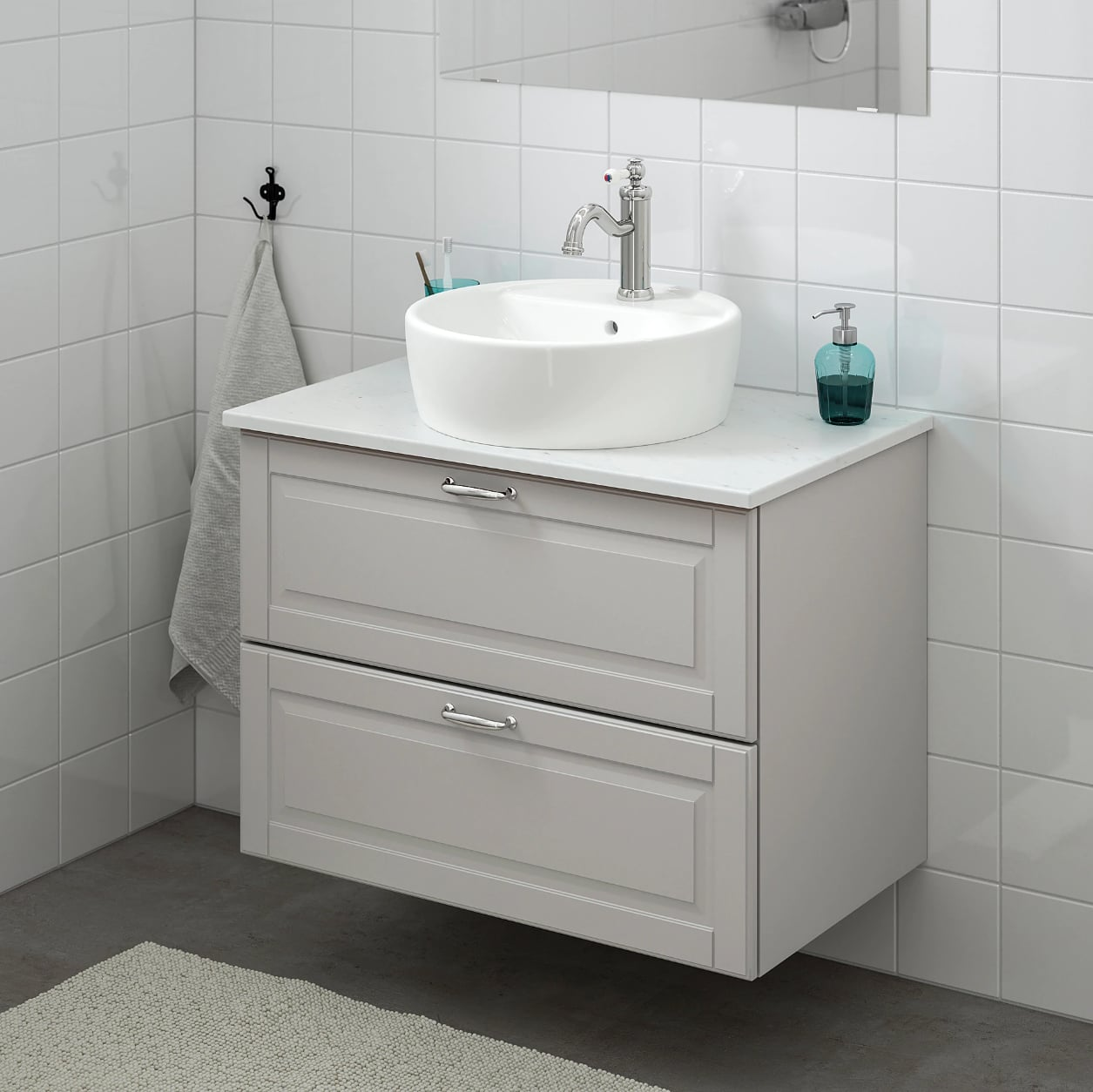los angeles 55aec 78ddb Godmorgon Cabinet | Small Bathrooms, Meet Big Storage ...