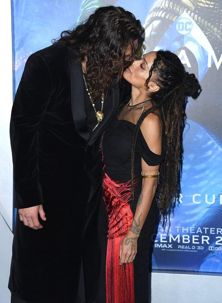 Jason Momoa And Lisa Bonet At The Aquaman Hollywood