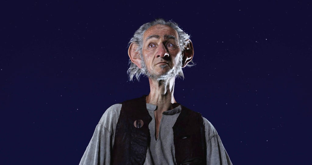 The BFG Actor in Real Life