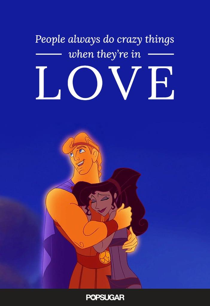 Disney Love Quotes Stunning Disney Love Quotes POPSUGAR Love Sex