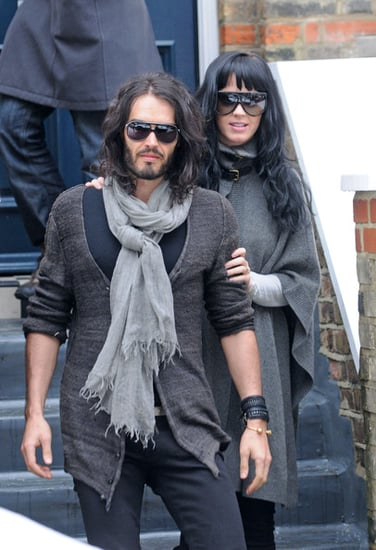 Katy and Russell out and about in London