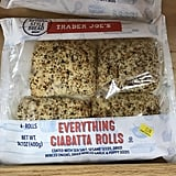 Trader Joe's Everything Ciabatta Rolls ($2)