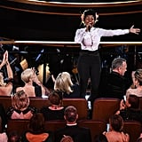 Pictures of Janelle Monáe Performing at the 2020 Oscars