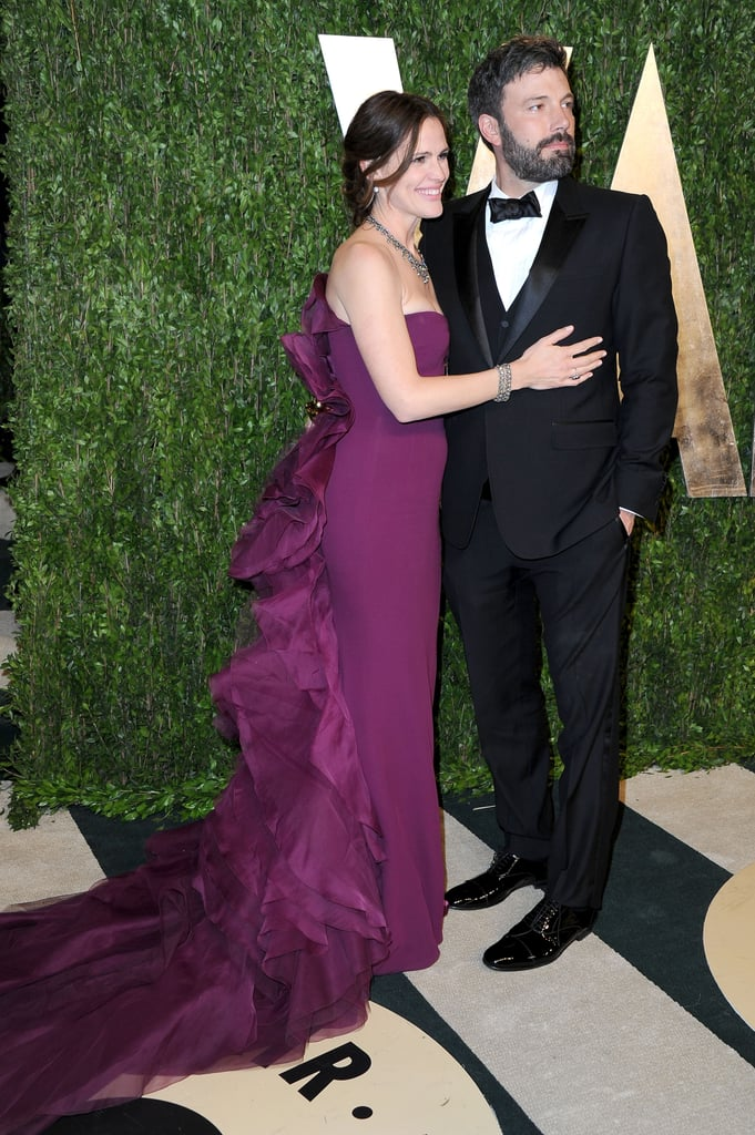 Ben Affleck and Jennifer Garner arrived at Vanity Fair's Oscar after-party in LA.