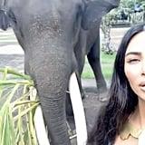 Kim Kardashian and Kanye West's Vacation Photos in Bali 2019