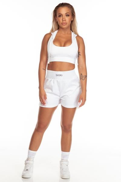 Knockout Collection Hooded Sports Bra