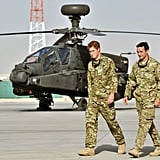 Prince Harry was redeployed to Afghanistan to work as an attack helicopter pilot.
