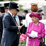 Duke of York and Queen Elizabeth II, 2017