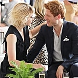 Imogen Poots and James Norton