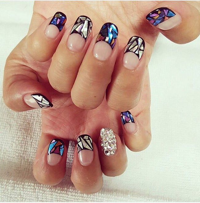 Glass nail art popsugar beauty australia photo 16 glass nail art is the latest korean beauty craze you need to try prinsesfo Image collections