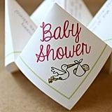 Baby Shower Cootie Catcher