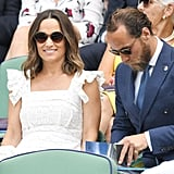 Pippa and James Middleton at Wimbledon July 2018