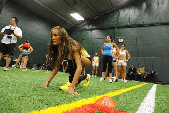 Photos of lingerie football league tryouts popsugar fitness