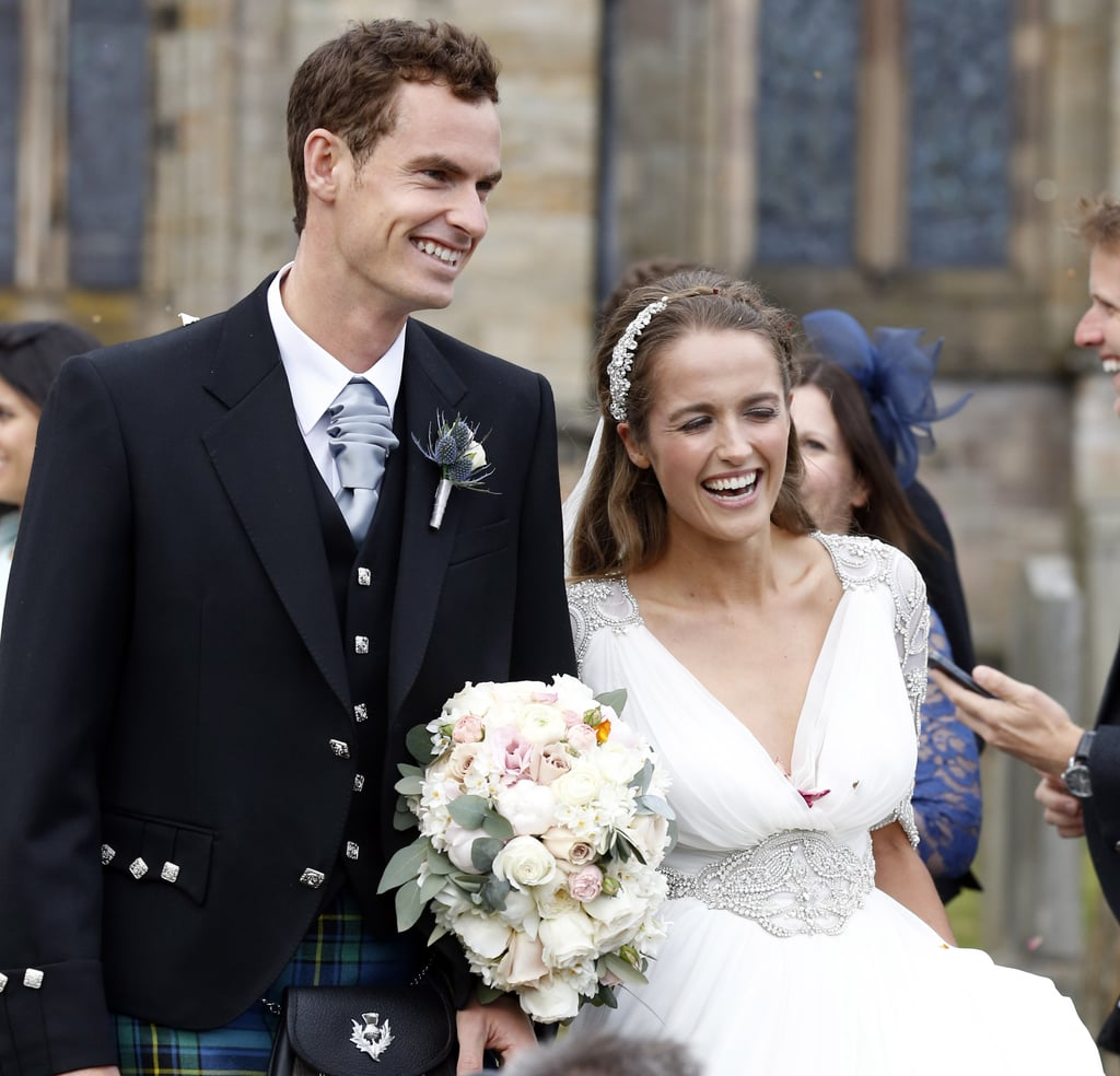 Kim sears wedding dress popsugar fashion this may be the prettiest wedding dress weve seen all year ombrellifo Gallery
