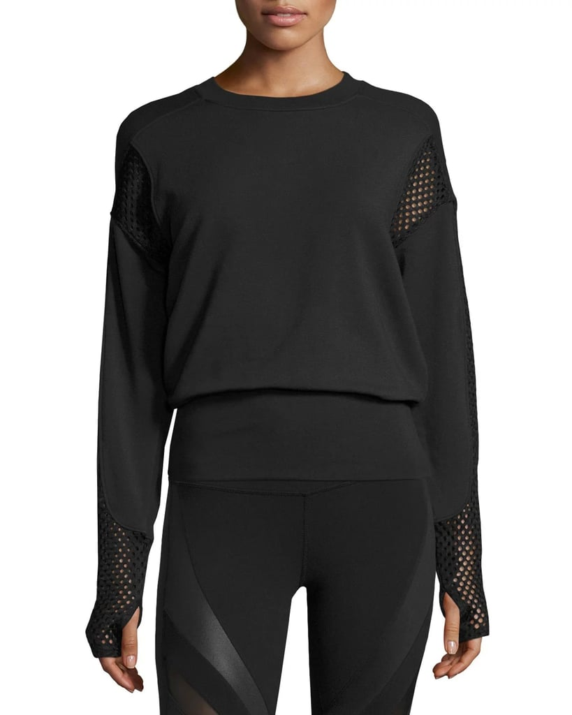 Alo Yoga Formation Long-Sleeve Top in Black