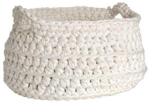 H&M Crocheted Storage Basket