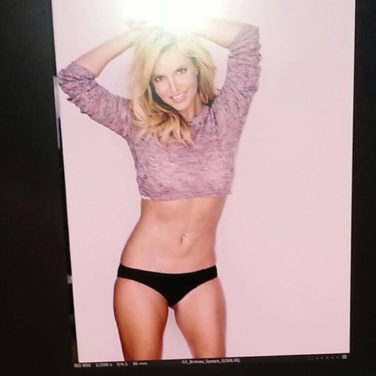 Britney Spears in Black Underpants | Photo
